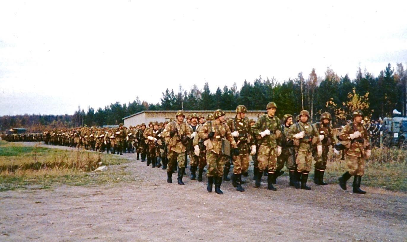 Puolustusvoimien kertausharjoitujoukkoja EFHN 1980s
