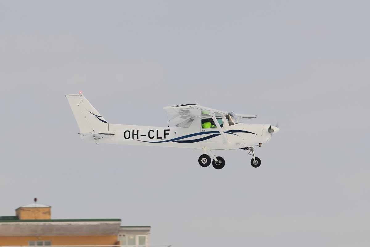 Niinikään tänään opiston C152 OH-CLF finaalissa 12.