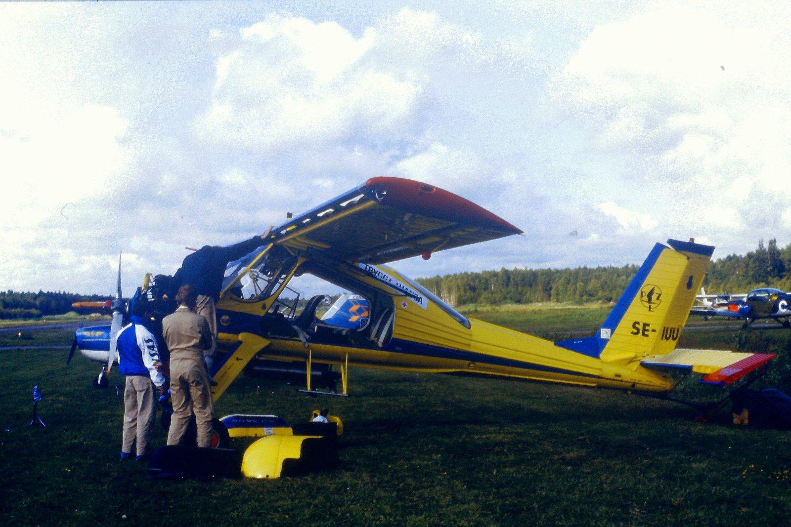 PZL-104 Wilga 35 SE-IUU EFHN 1987-06