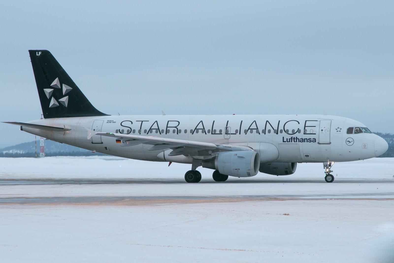 D-AILF. Airbus 319-100