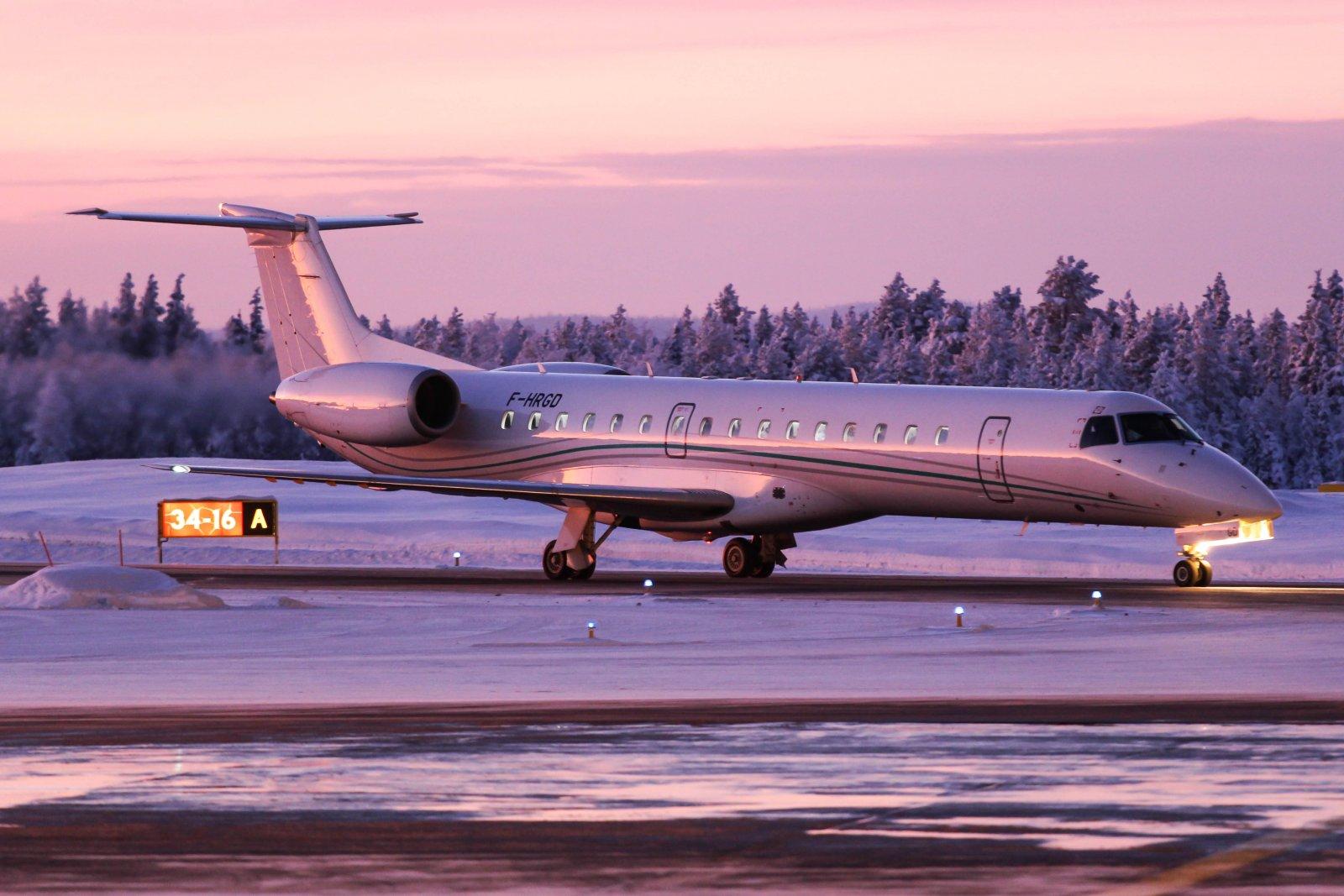 F-HRGD Embraer ERJ-145LU