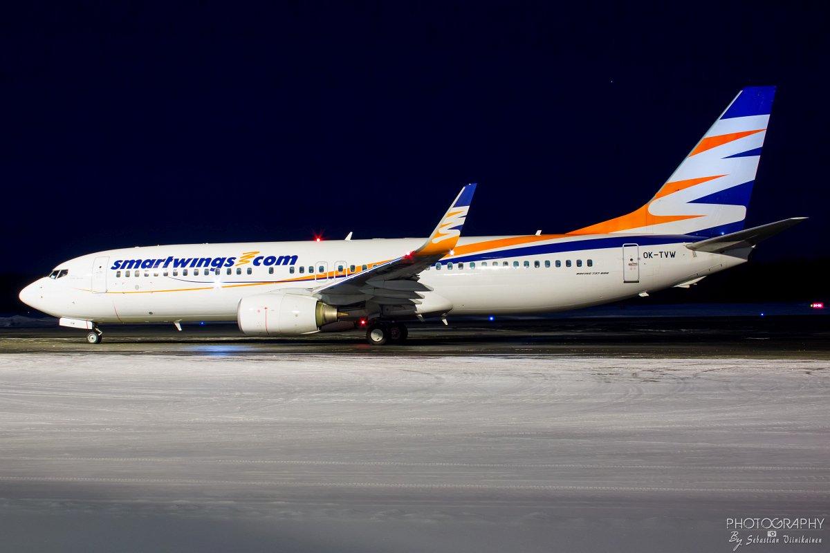 OK-TVW SmartWings Boeing B737-800, 27.2.2018