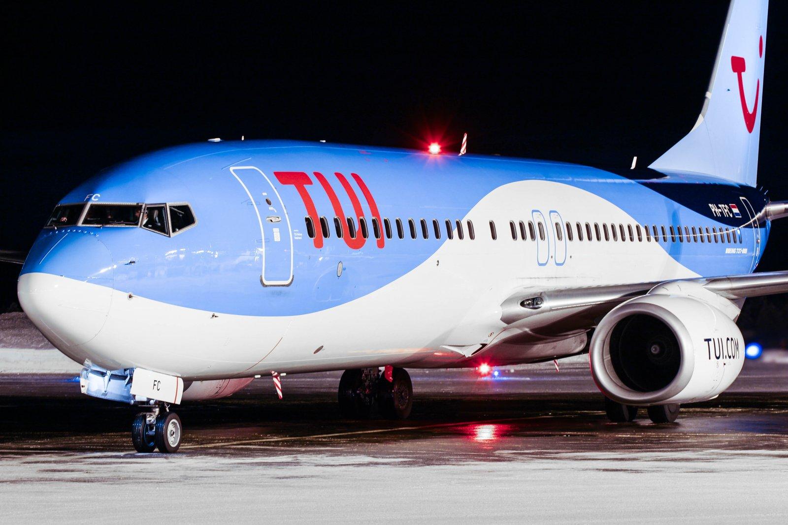4.2 PH-TFC Boeing 737-8K5 Amsterdamista Kittilään