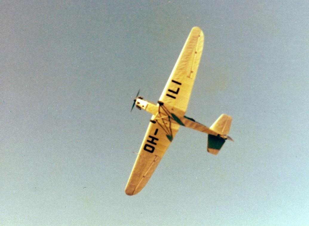Klemm Kl-25D VIIr OH-ILI EFHN 1970s