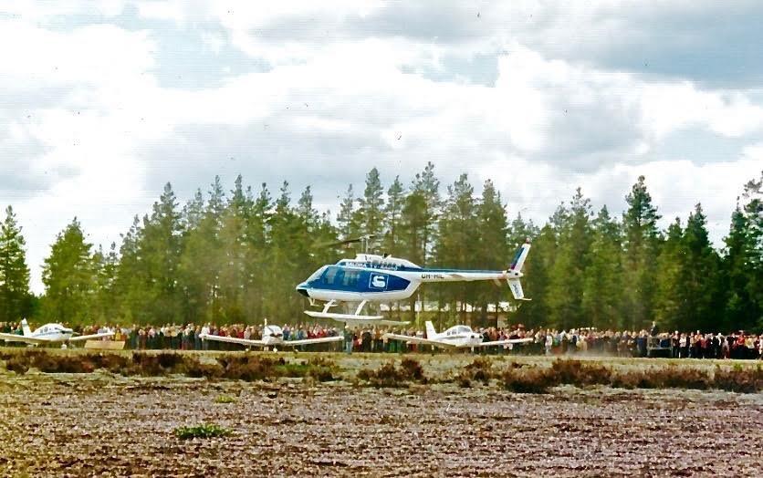 Agusta Bell 206B Jet Ranger II OH-HIL EFIK 1974-06-02