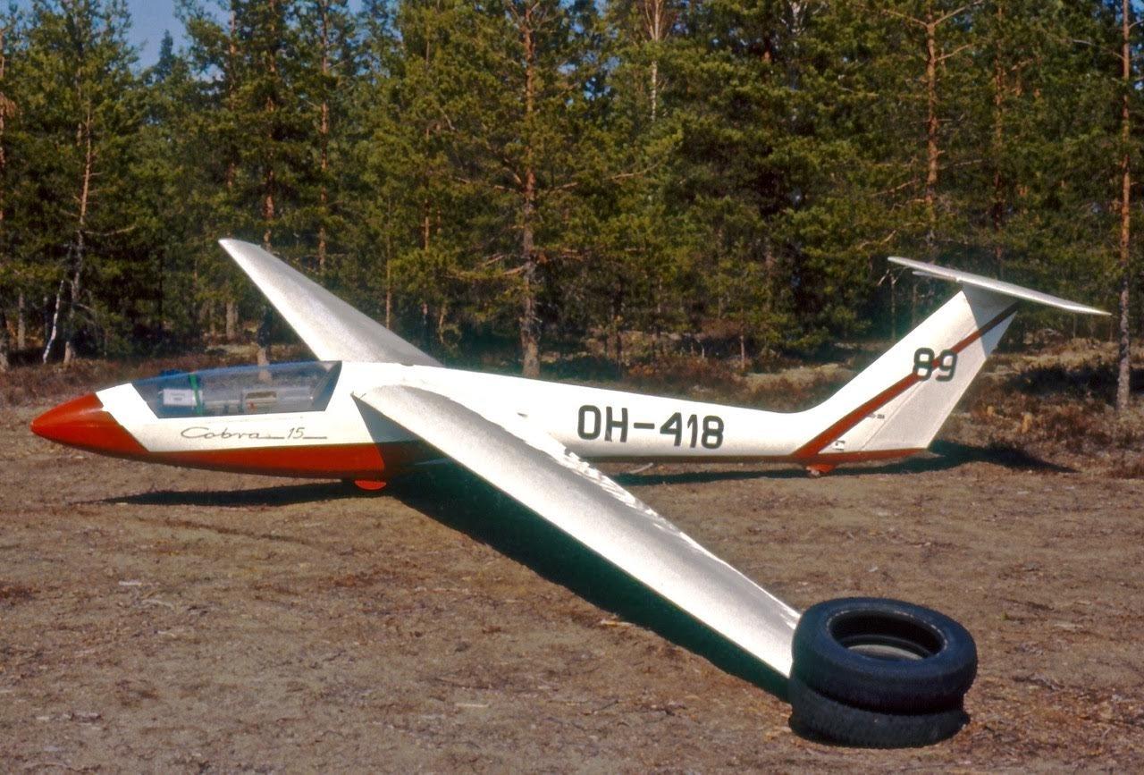 """SZD-36A Cobra-15 OH-418 """"89"""" EFIK 1977"""