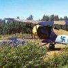 Gloster Gauntlet Mk. II OH-XGT & Sukhoi Su-26RA-3266(?) EFHN 1993-06-05