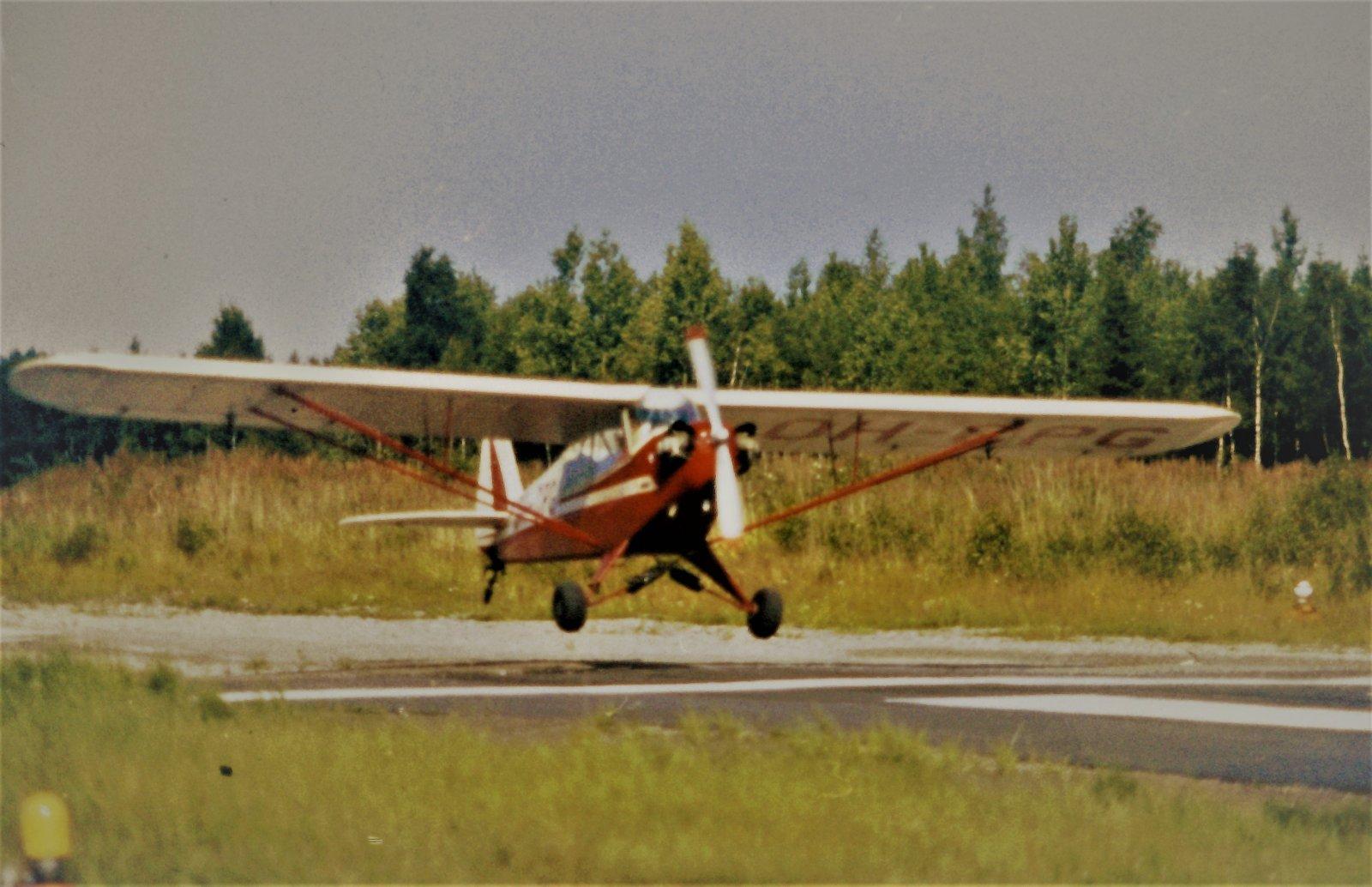 Piper J3C-85 Cub OH-CPG EFHN 1980