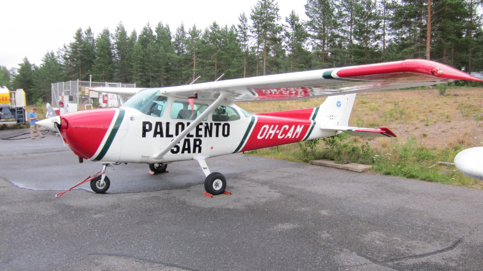 Cessna 172P Skyhawk II OH-CAM EFJM 2011-07-21