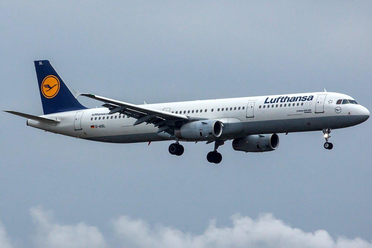 Lufthansa Airbus A321-231 D-AISL