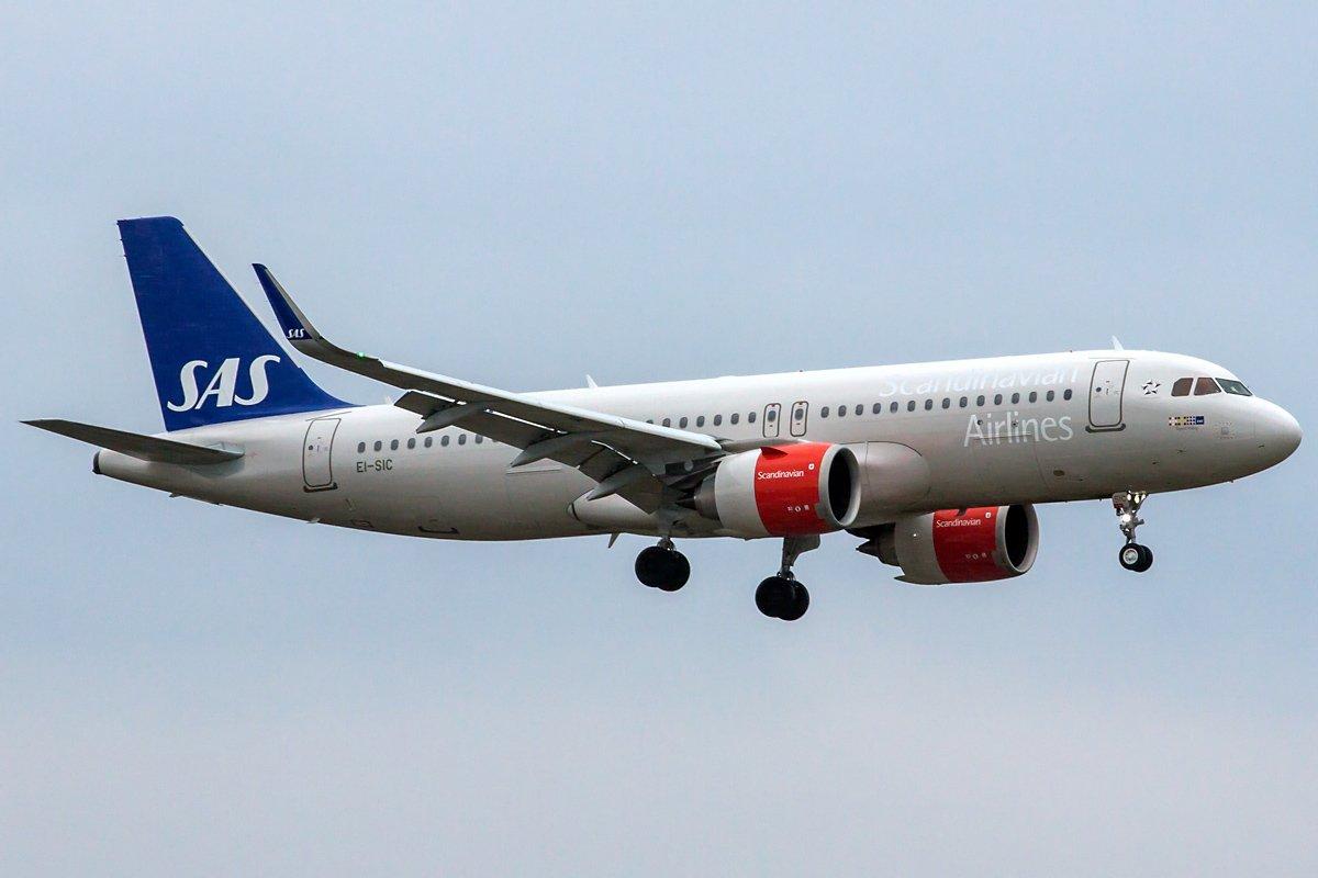 SAS Scandinavian Airlines Ireland Airbus A320-251N EI-SIC