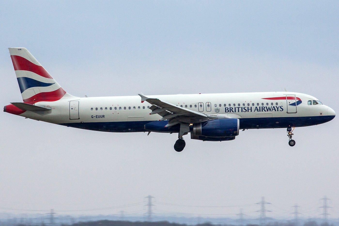British Airways Airbus A320-232 G-EUUR