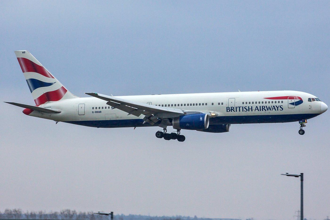 British Airways Boeing 767-336(ER) G-BNWB