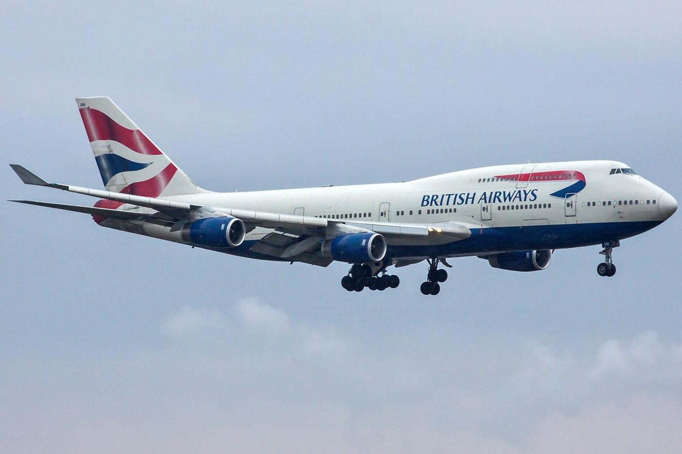 British Airways Boeing 747-436 G-CIVH