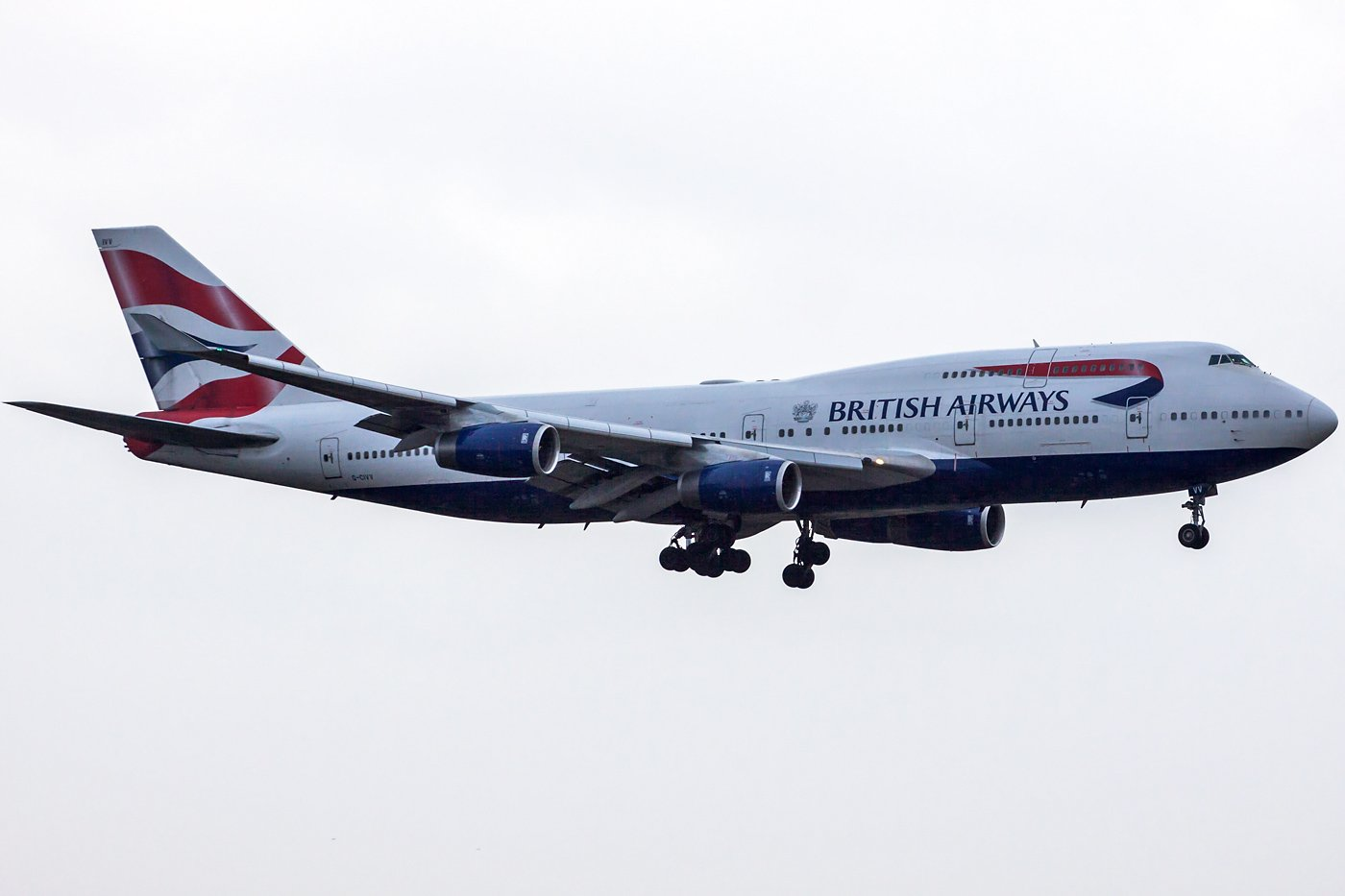 British Airways Boeing 747-436 G-CIVV
