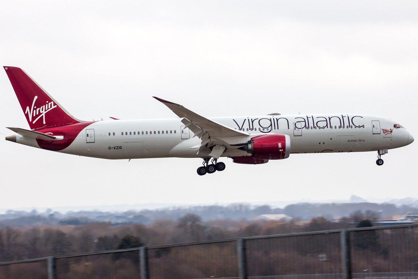 Virgin Atlantic Airways Boeing 787-9 Dreamliner G-VZIG