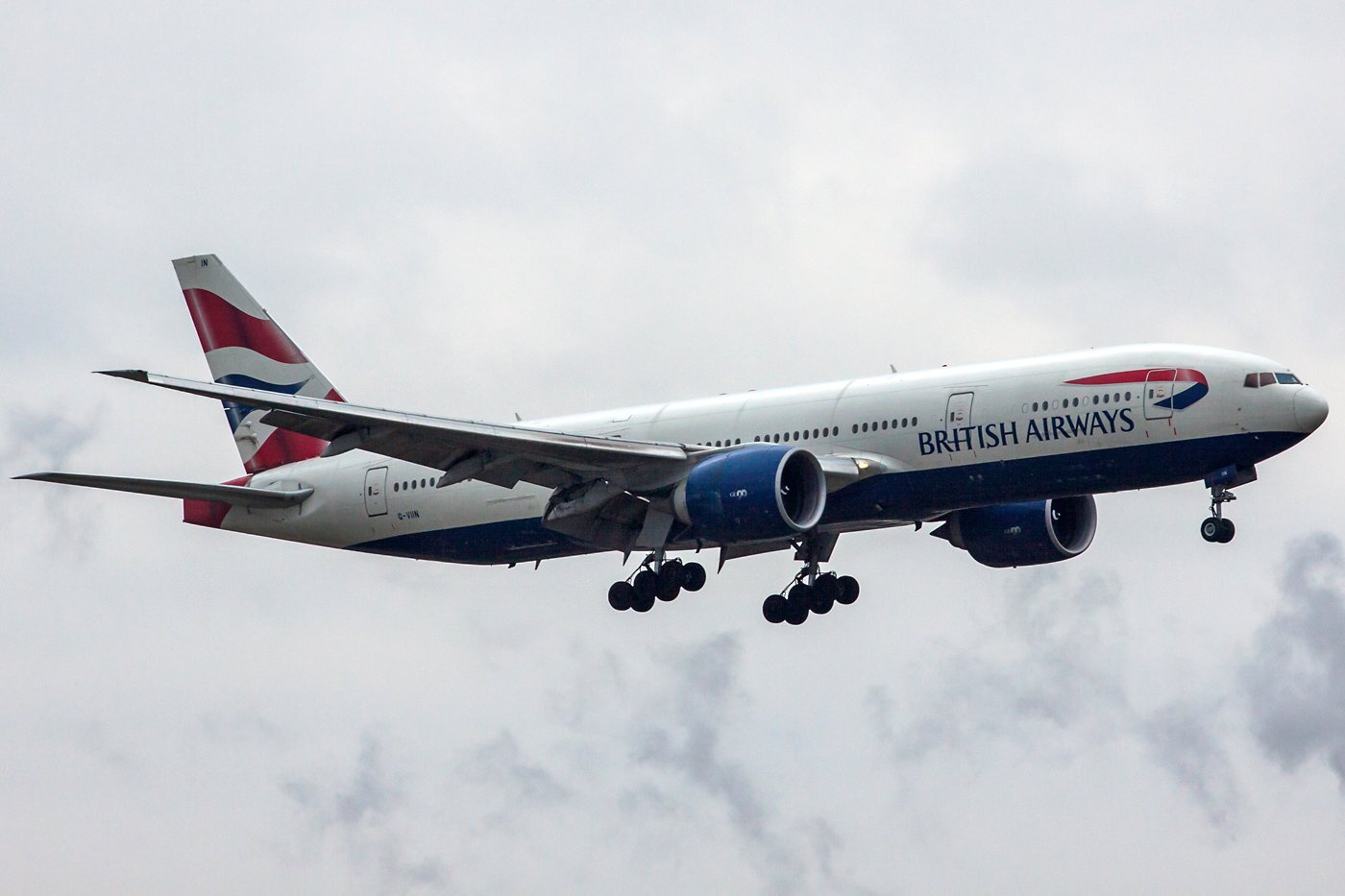 British Airways Boeing 777-236(ER) G-VIIN