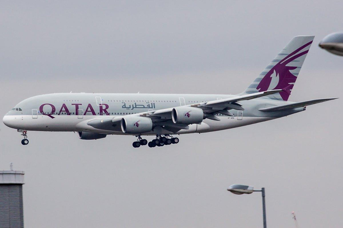 Qatar Airways Airbus A380-861 A7-APG