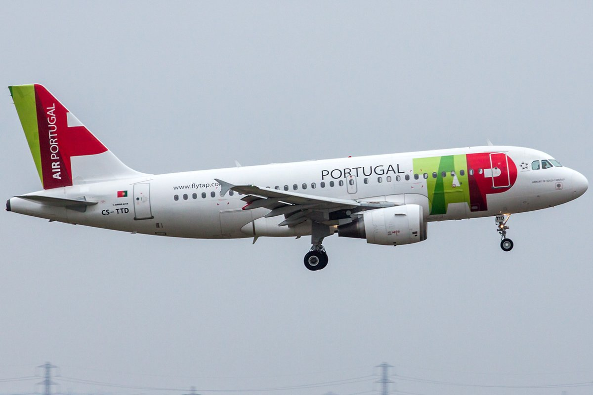 TAP - Air Portugal Airbus A319-111 CS-TTD