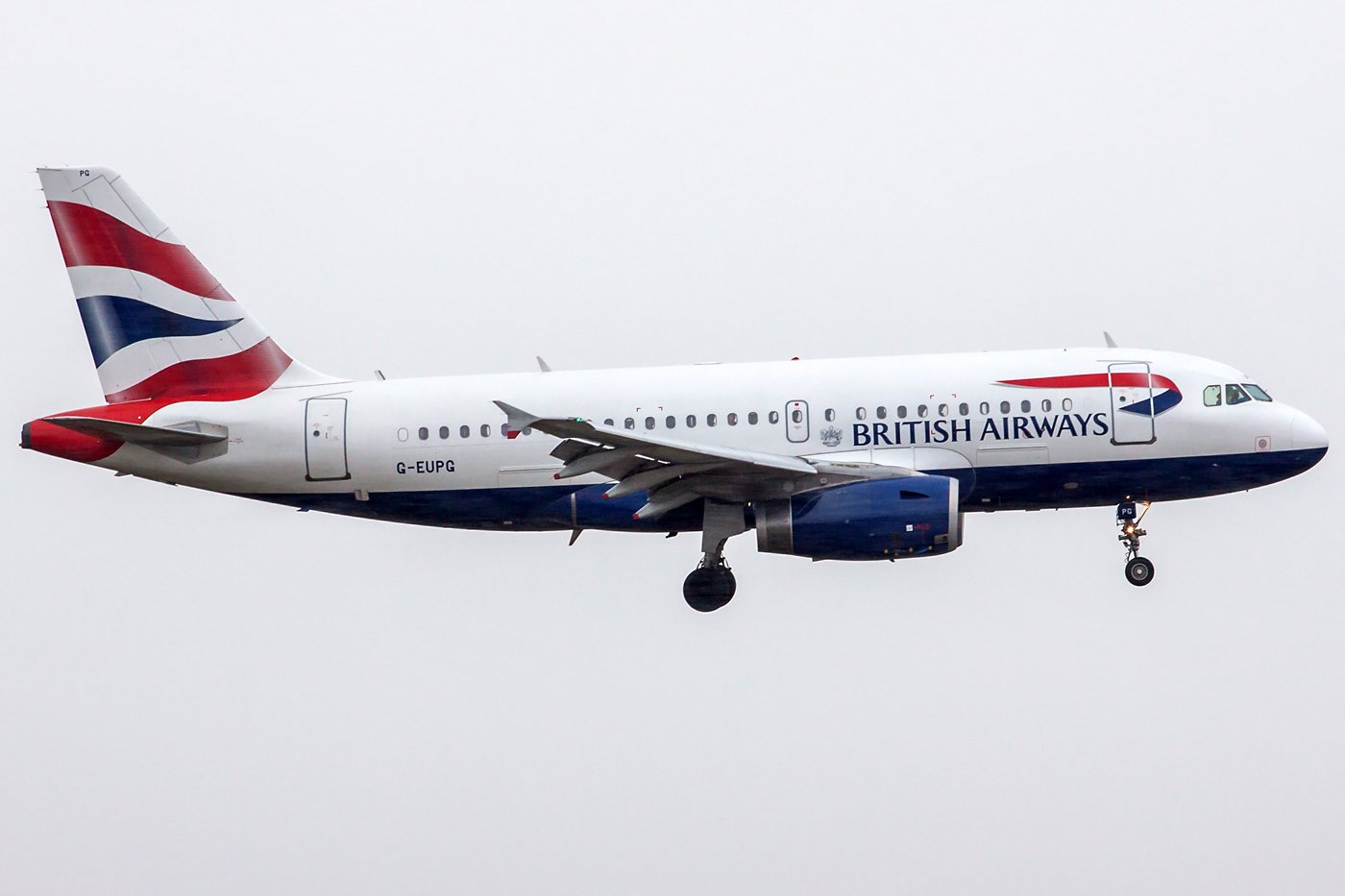 British Airways Airbus A319-131 G-EUPG