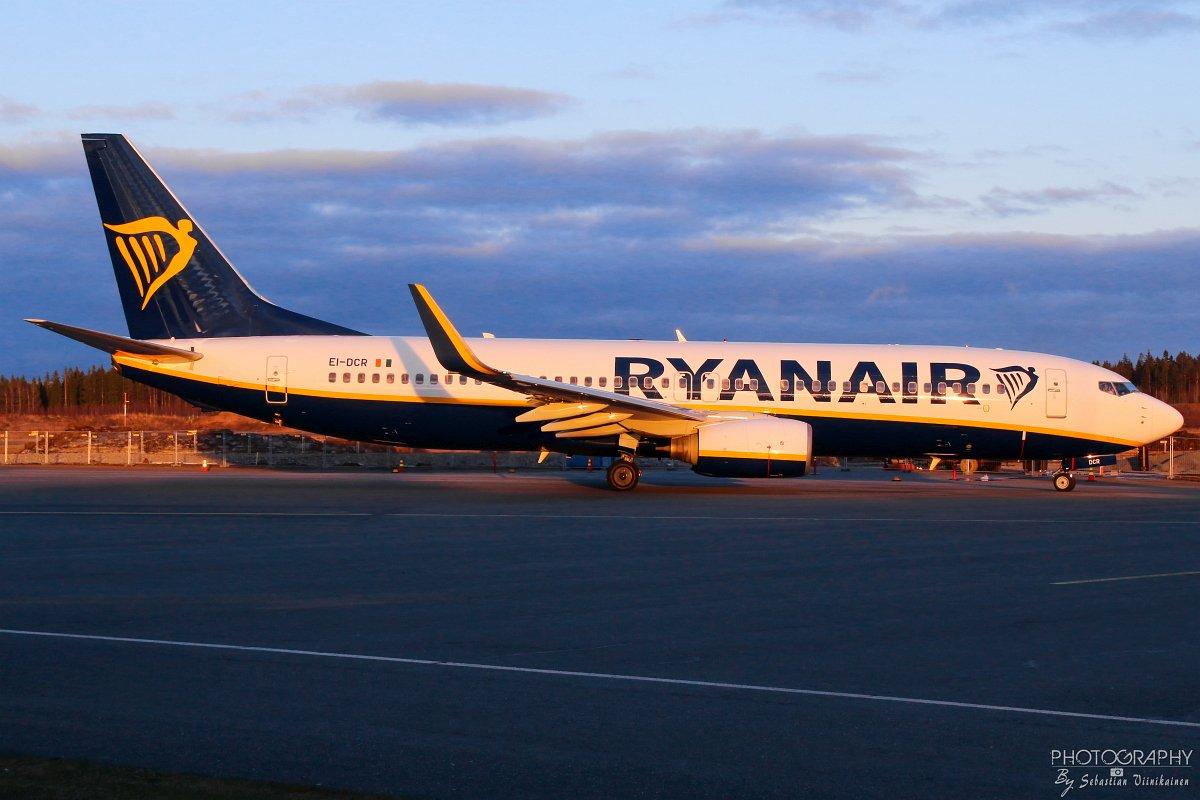EI-DCR Ryanair Boeing B737-800, 22.04.2018