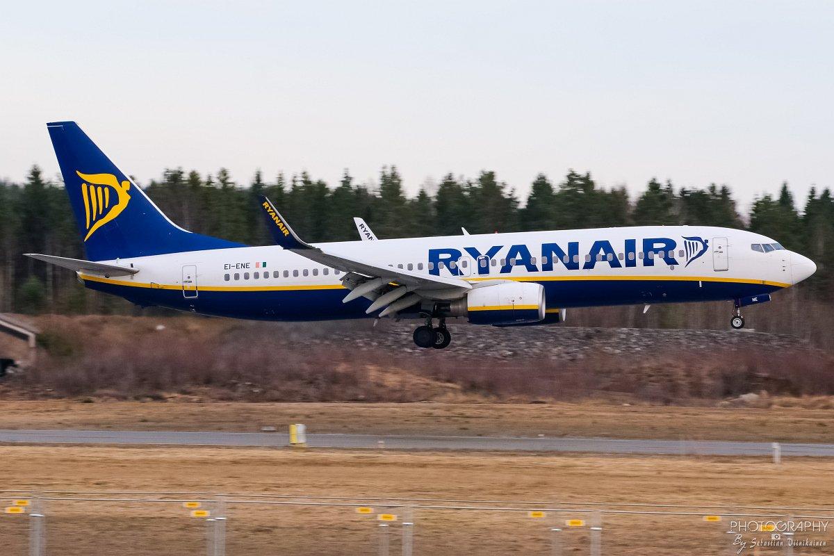 EI-ENE Ryanair B737-800, 23.04.2018