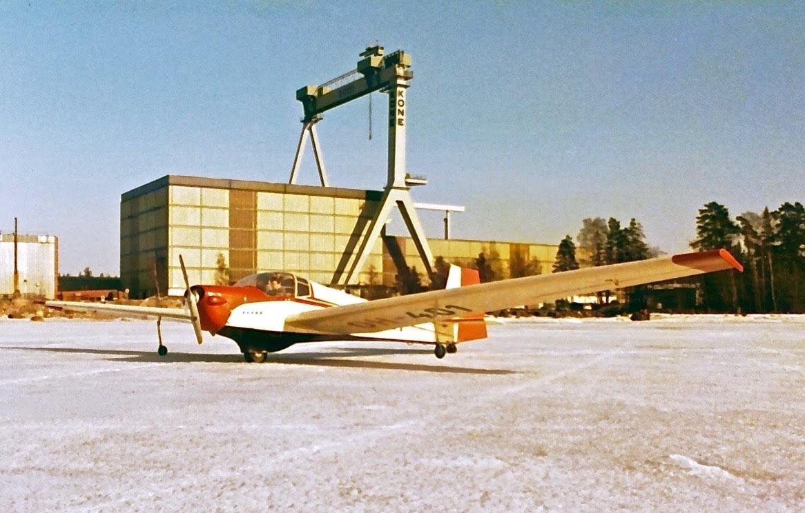 Scheibe SF-25B Falke OH-401 Hanko 1970s