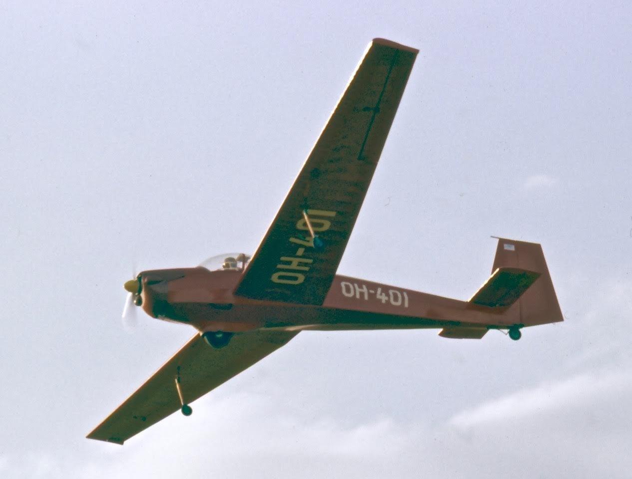 Scheibe SF-25B Falke OH-401 EFHN 1970s