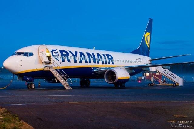 EI-FIE Ryanair B737-800, 29.04.2018