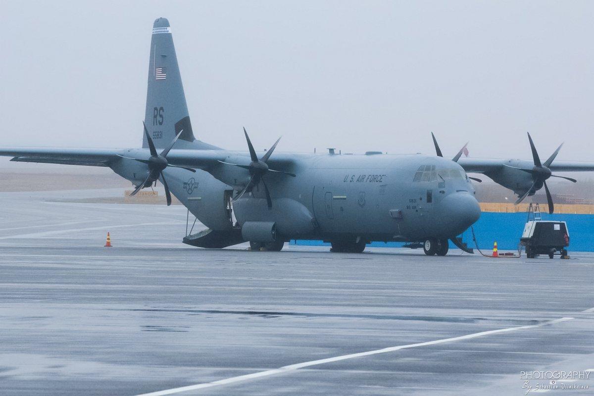 15-5831 USAF Lockheed C-130J-30 Super Hercules, 01.05.2018
