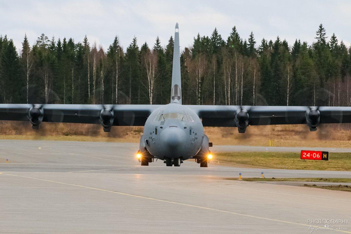 15-5831 USAF Lockheed C-130J-30 Super Hercules, 02.05.2018