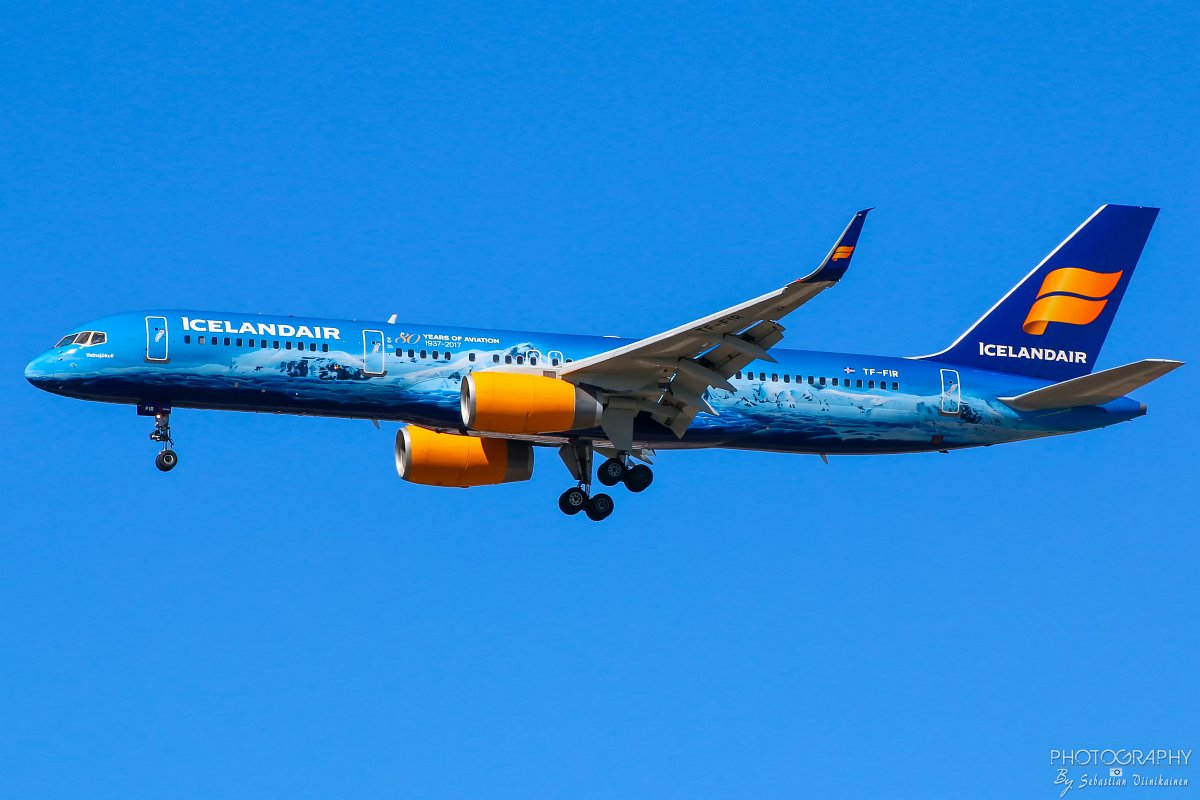 TF-FIR Icelandair B757-200, 05.05.2018