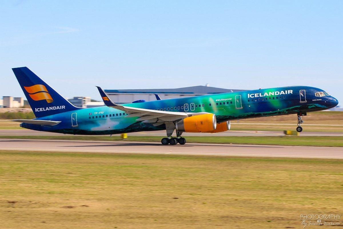 TF-FIU Icelandair Boeing B757-200, 05.05.2018