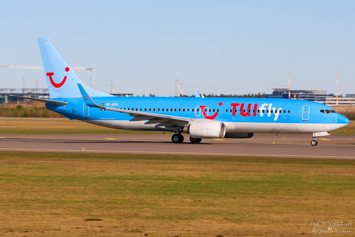 SE-DZV TUIfly Nordic B737-800, 05.05.2018