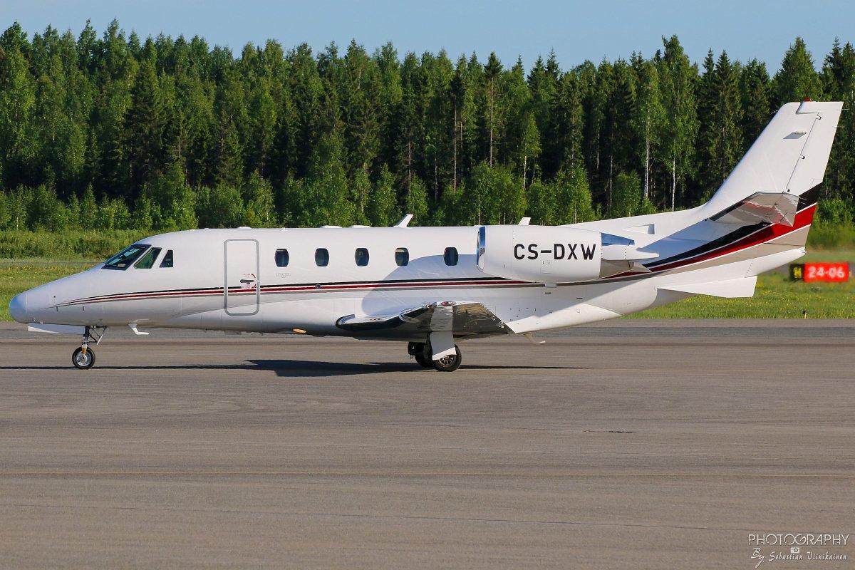 CS-DXW Netjet Europe Cessna 560XL Citation XLS