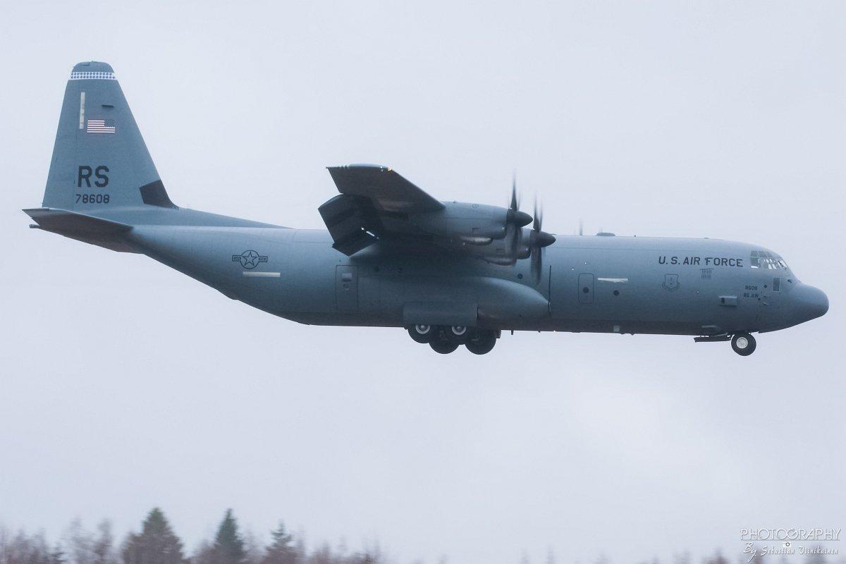 07-8608 USAF Lockheed C-130J-30 Super Hercules, 01.05.2018