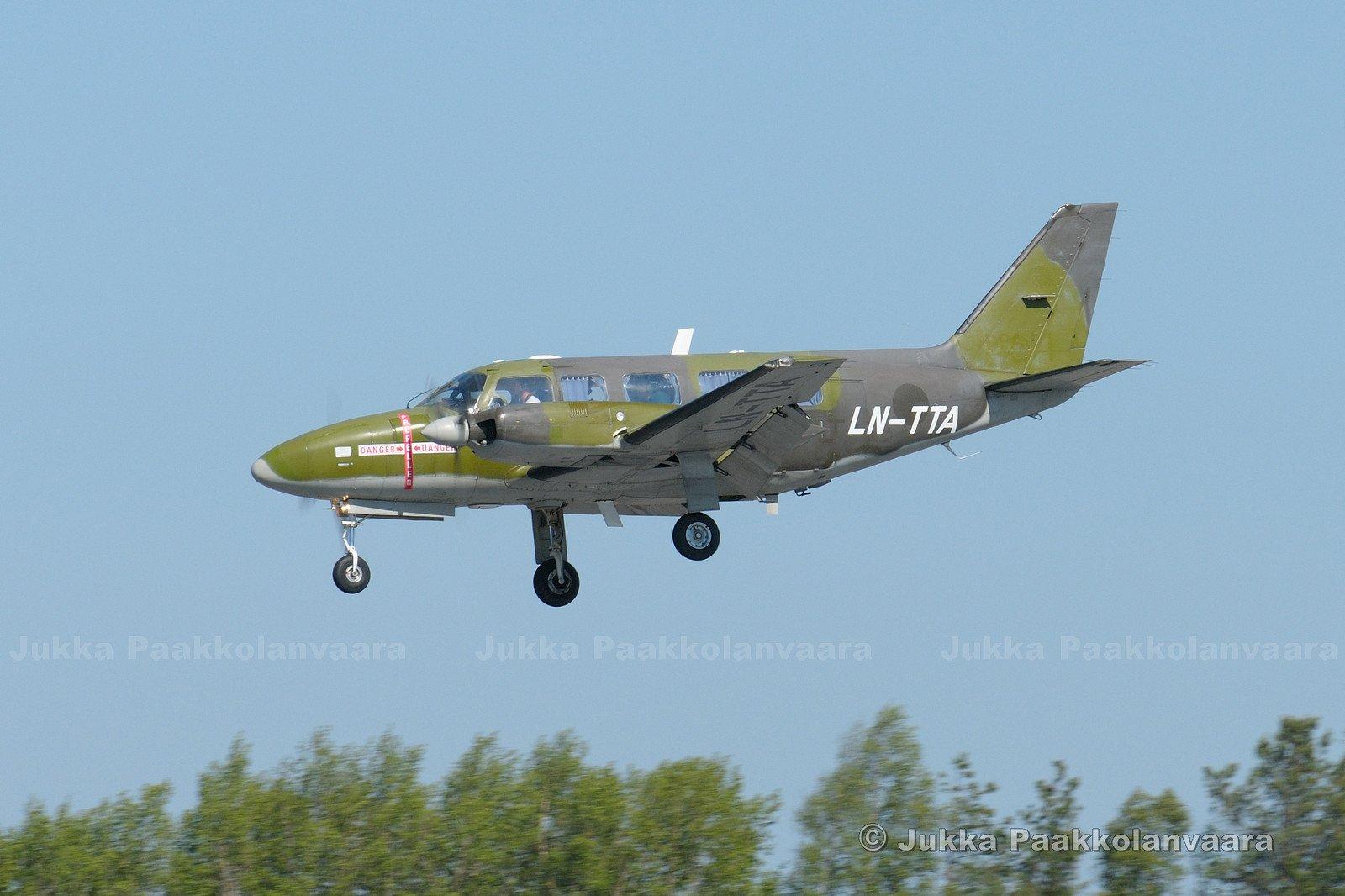Piper PA-31-350 Navajo, LN-TTA, 2018-05-25