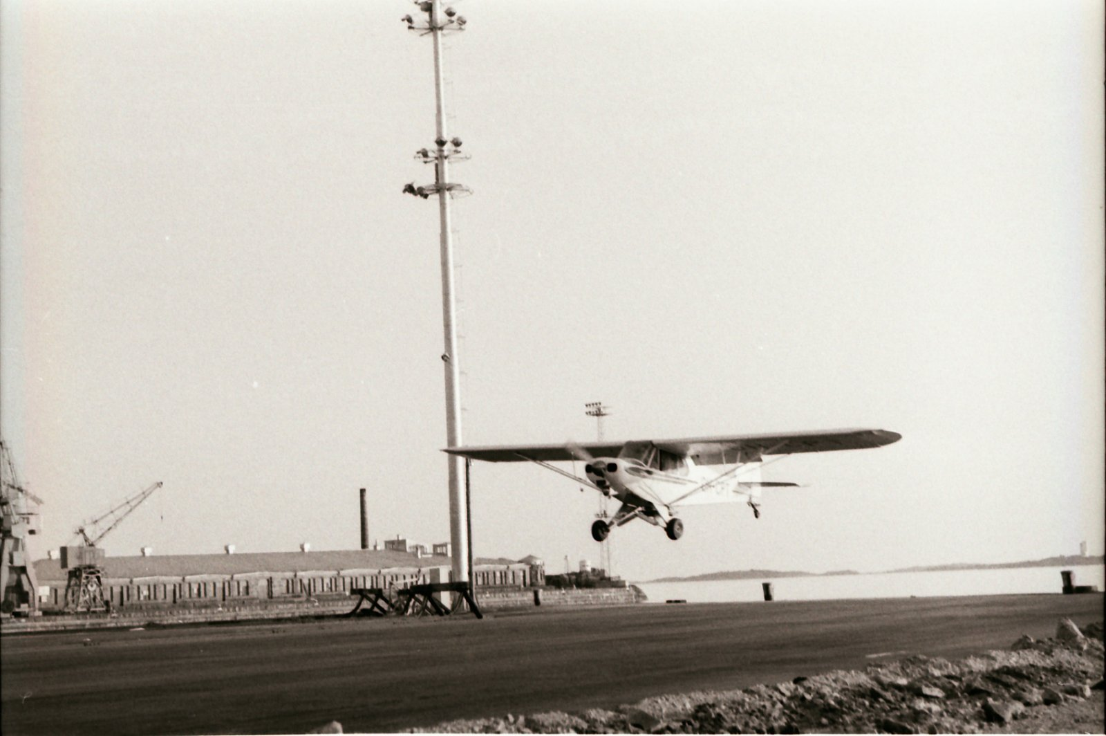 Piper PA-18-135 Super Cub OH-CPT Hanko 1960s