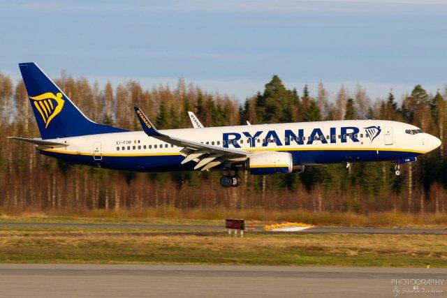 EI-FOB Ryanair Boeing B737-800, 06.05.2018