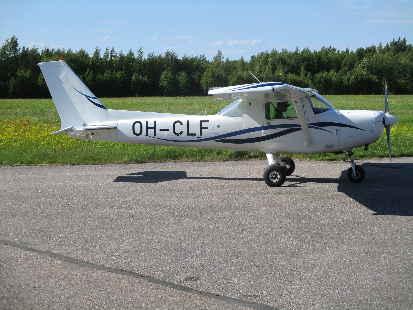 Cessna F152 OH-CLF EFHN2018-06-01