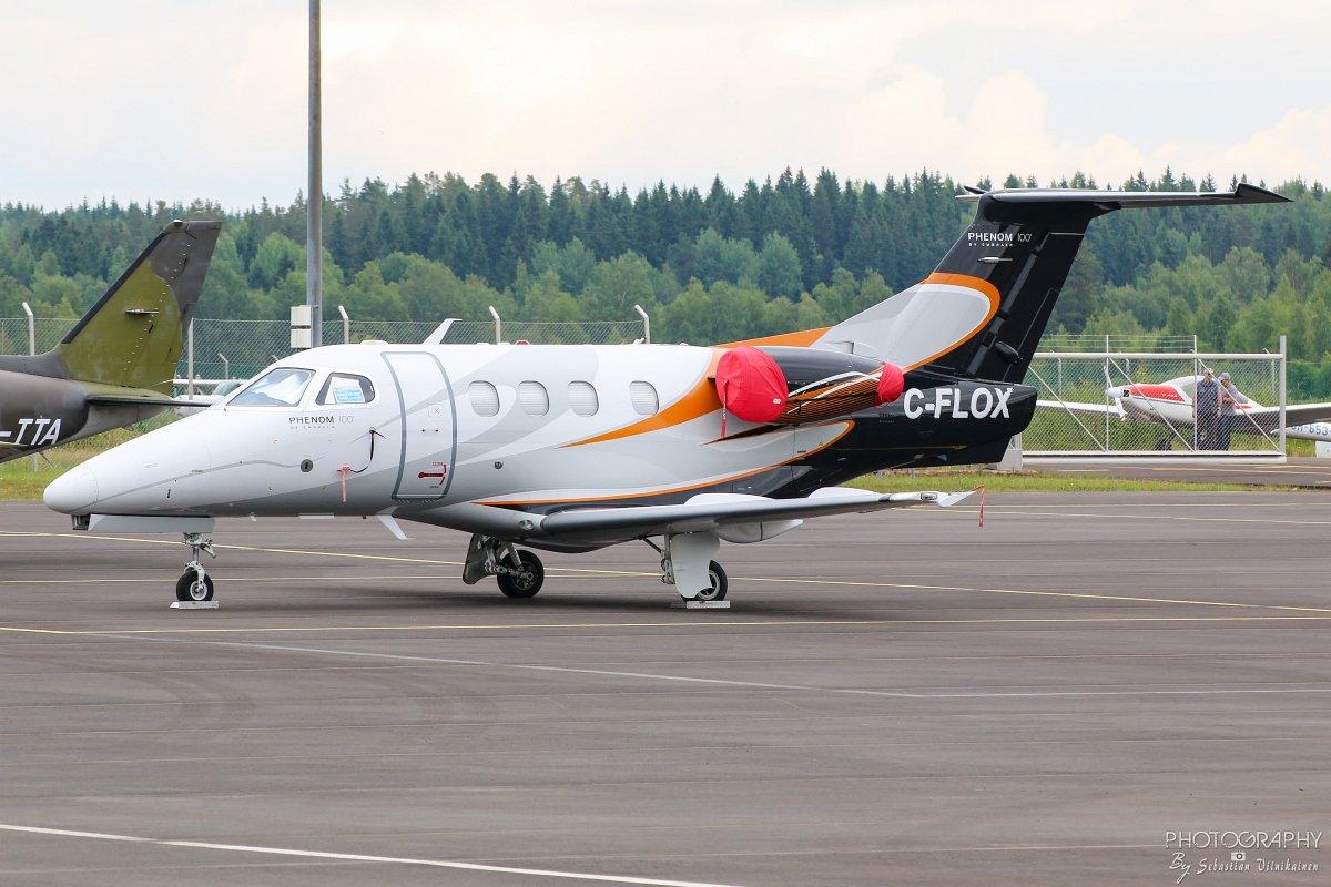 C-FLOX Flightpath Charter Airways Embraer 500 Phenom 100, 25.06.2018