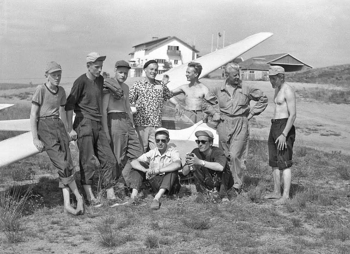 C-kurssi EFJM 1955-07 PIK-5 OH-PAC