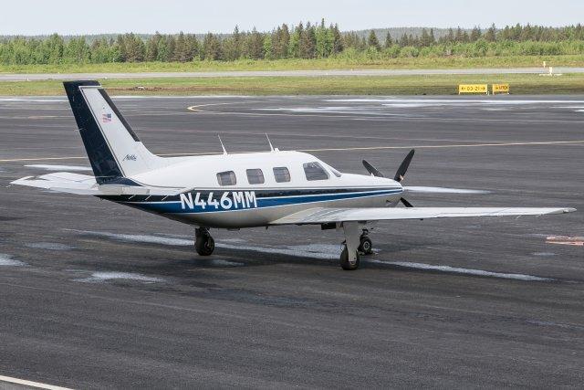 N446MM. 29.5 Piper PA-46-310P