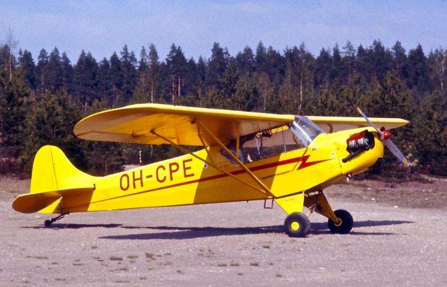 Piper J-2 Cub OH-CPE EFIK 1976