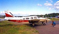 Piper PA-34-200T Seneca II OH-PZL EFHN 1995-07-22