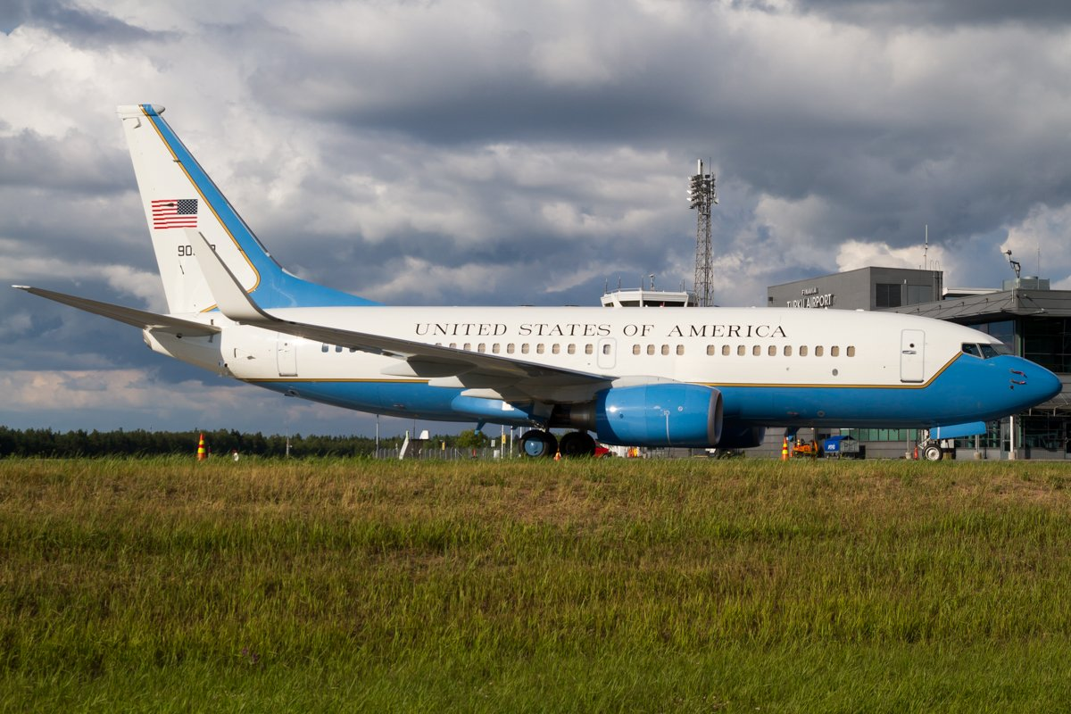 4.7.2018 Air Force - United States | Boeing C-40C 09-0540