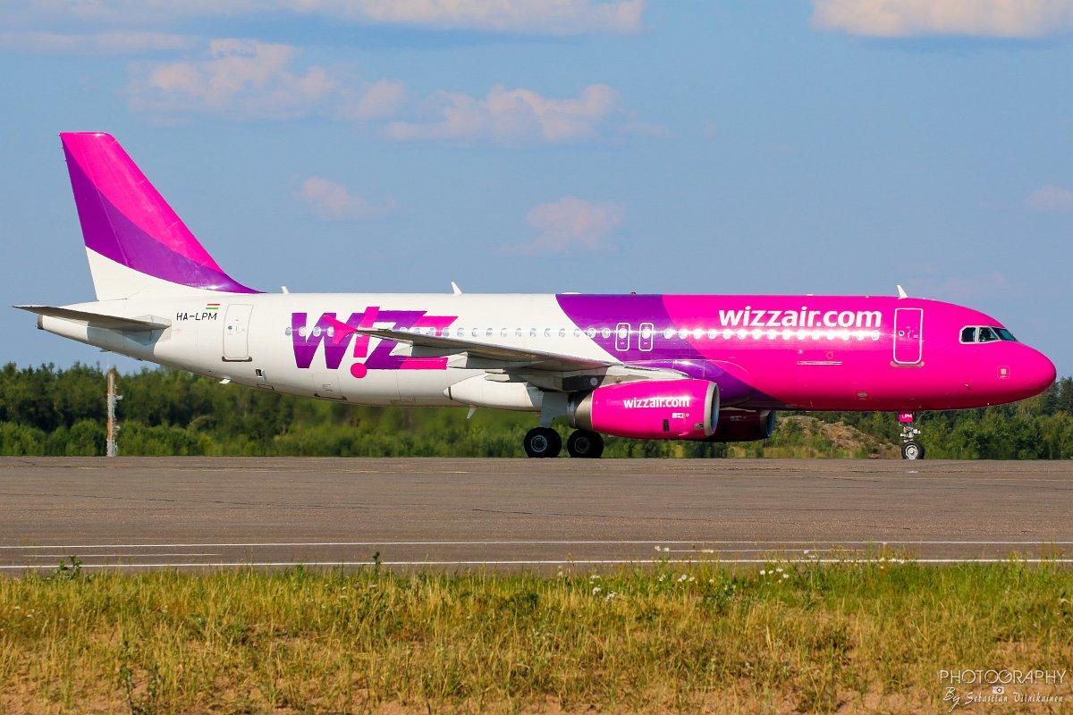 HA-LPM Wizz Air A320-200, 16.07.2017