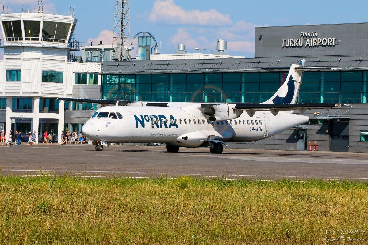 OH-ATH Norra ATR 72-500, 16.07.2018