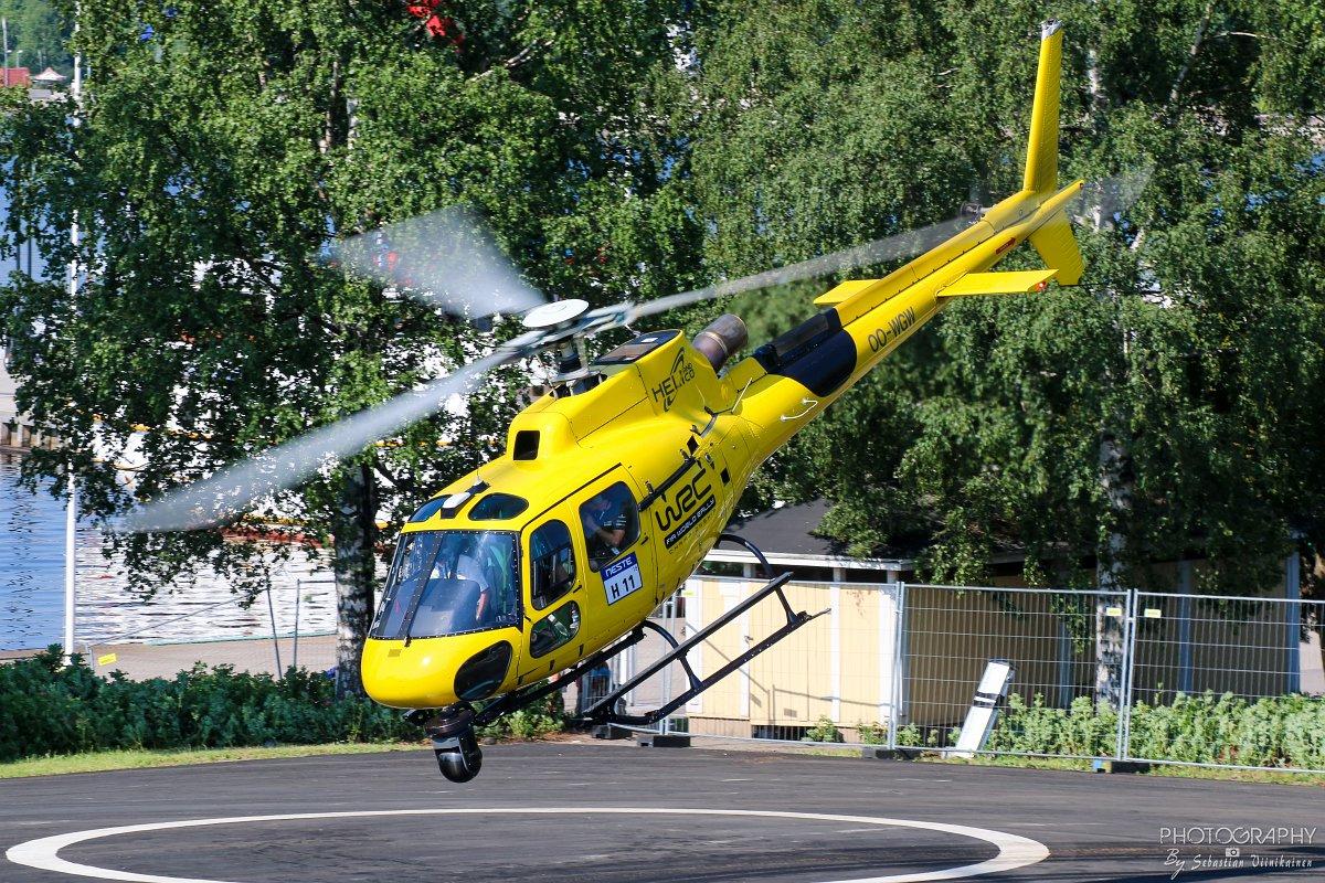 OO-WGW Aérospatiale AS350 B3 Ecureuil, 27.07.2018