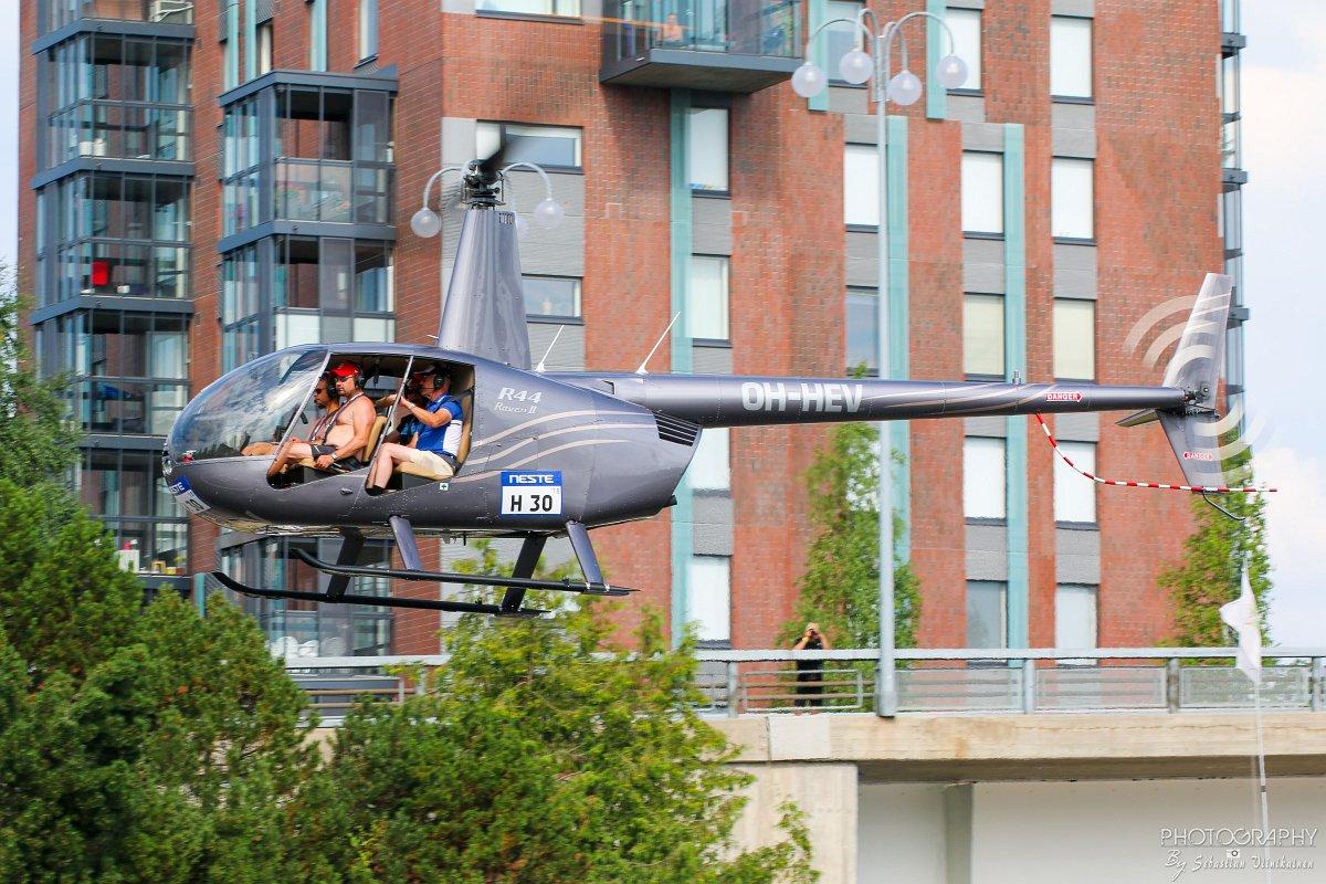 OH-HEV Robinson R44 Raven II, 27.07.2018